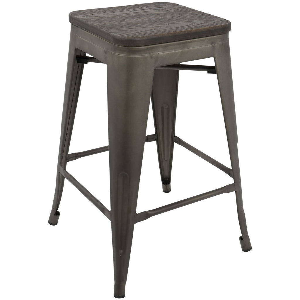 OREGON COUNTER STOOL - SET OF 2