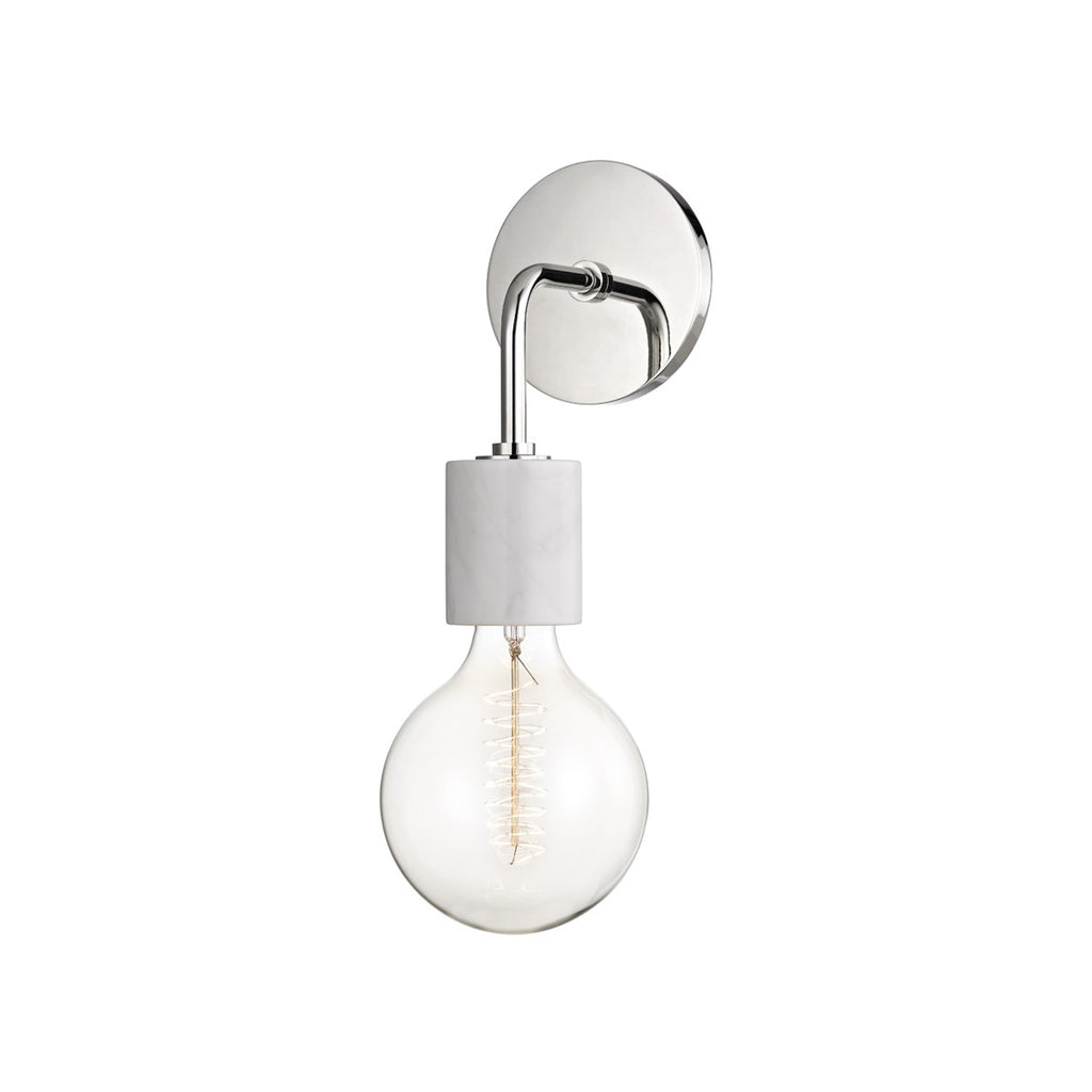 POLISHED NICKEL ASIME LIGHT