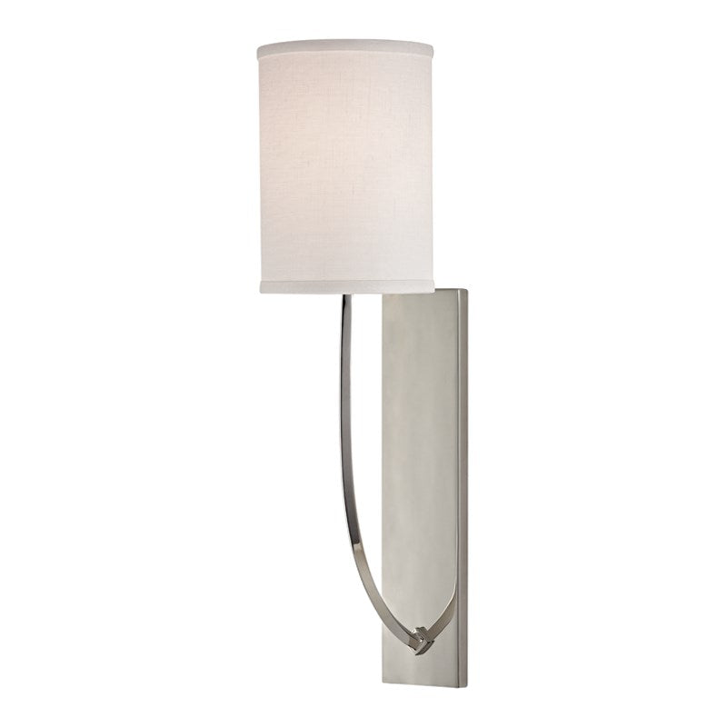 POLISHED NICKEL COLTON SCONCE