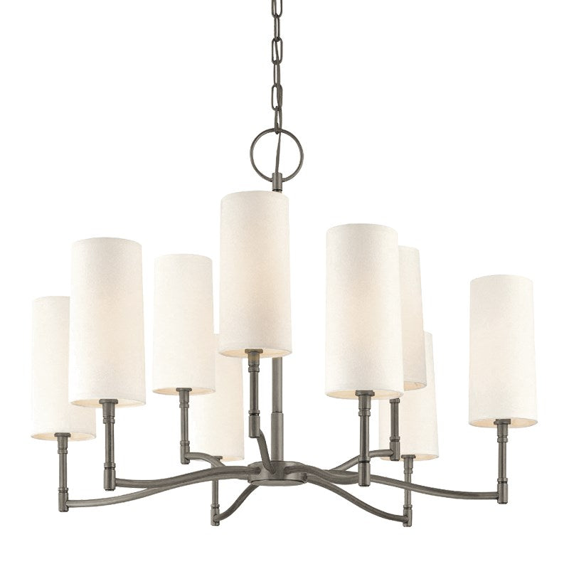 ANTIQUE NICKEL DILLON CHANDELIER