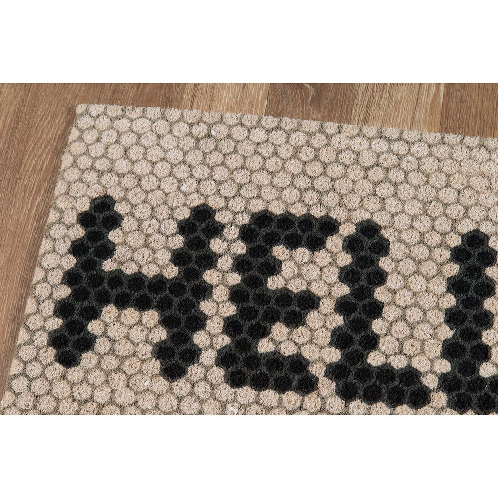 HELLO HEX TILE MAT