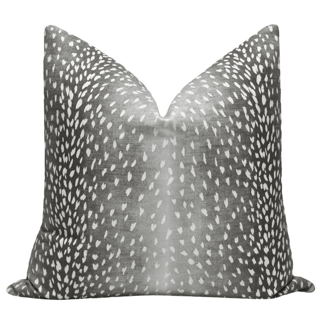 ANTELOPE LINEN CHARCOAL PILLOW