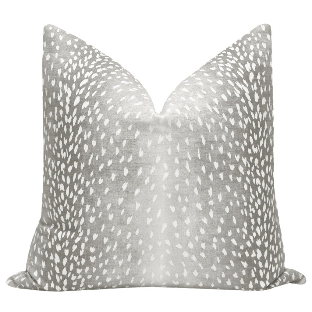 ANTELOPE LINEN GREY PILLOW