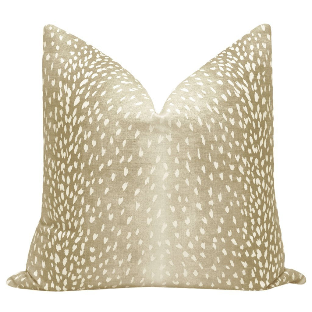 ANTELOPE LINEN NATURAL PILLOW
