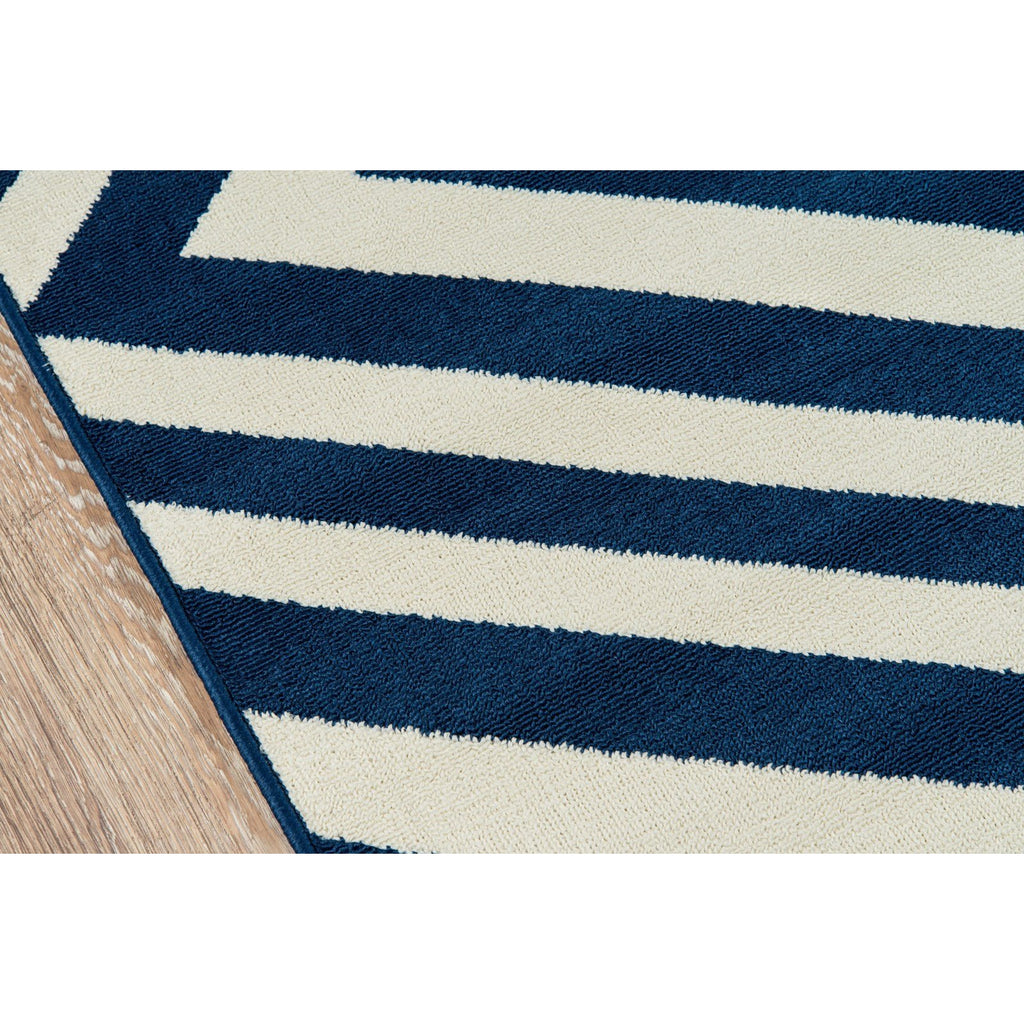 DIAMOND NAVY BAJA RUG