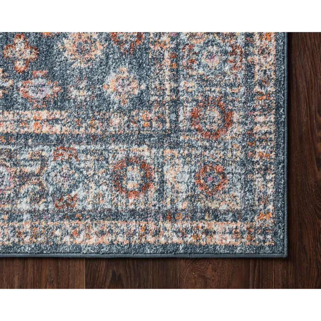 Blue/ Light Blue Clara Rug