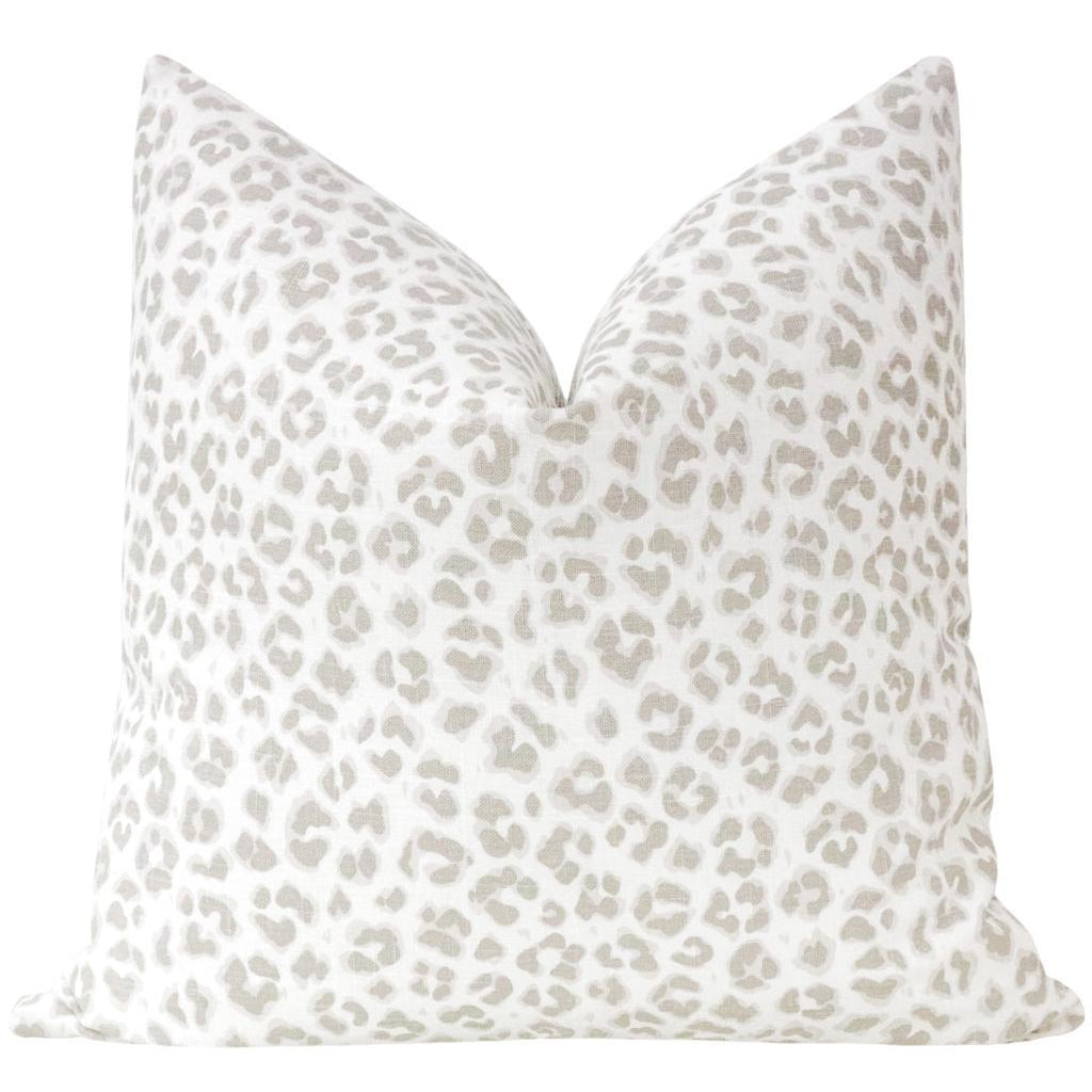 COUGAR LINEN STONE PILLOW
