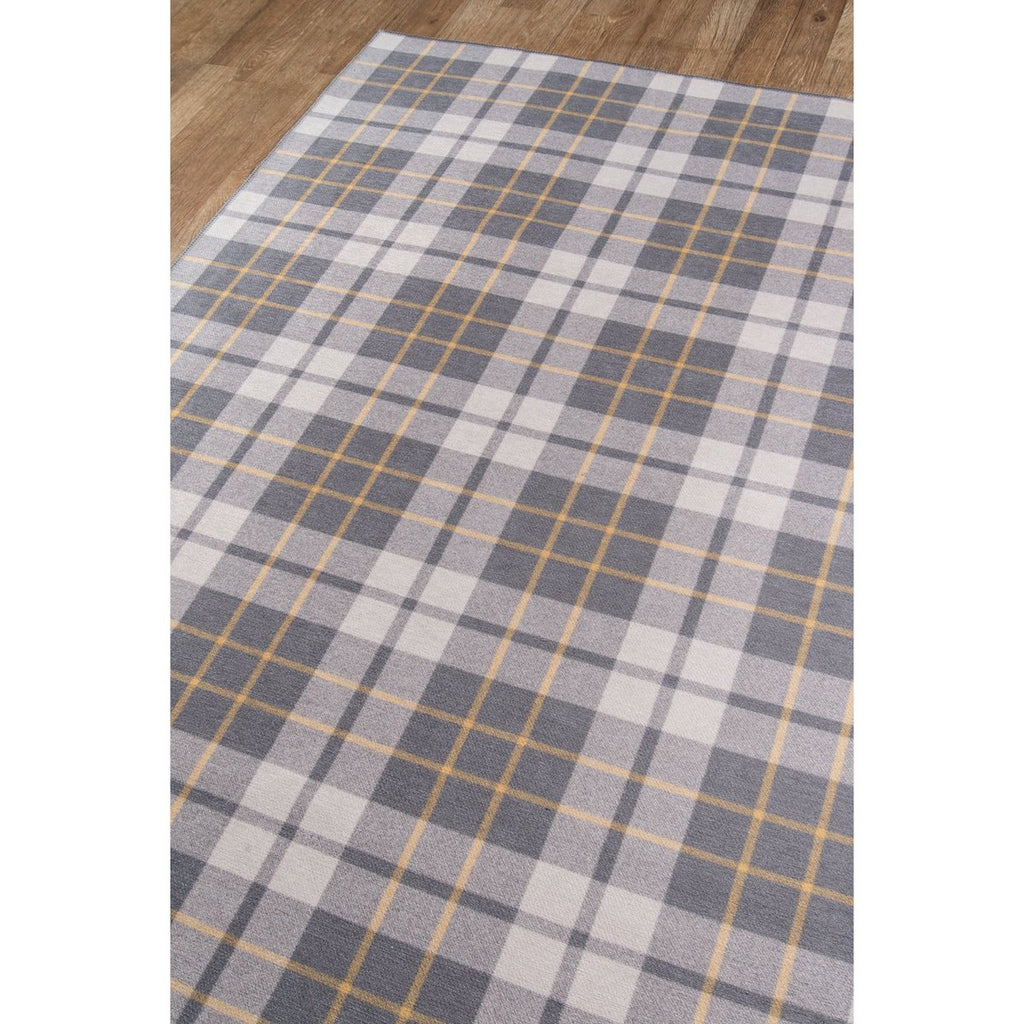GREY CADET DISTRICT RUG