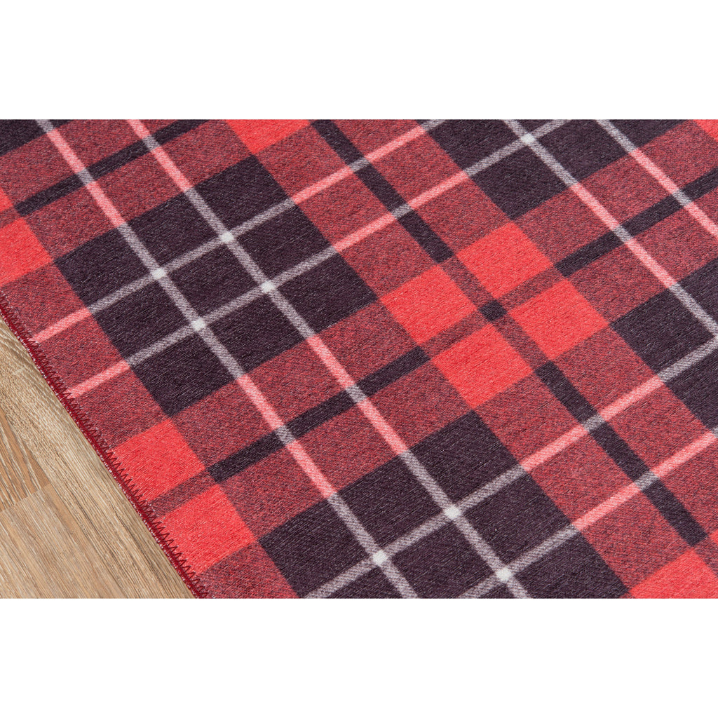 RED BLAIR DISTRICT RUG