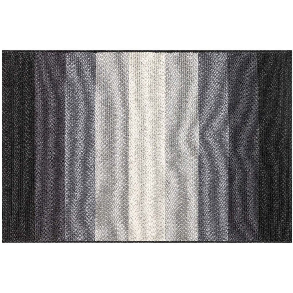 BLACK AND IVORY GARRETT RUG