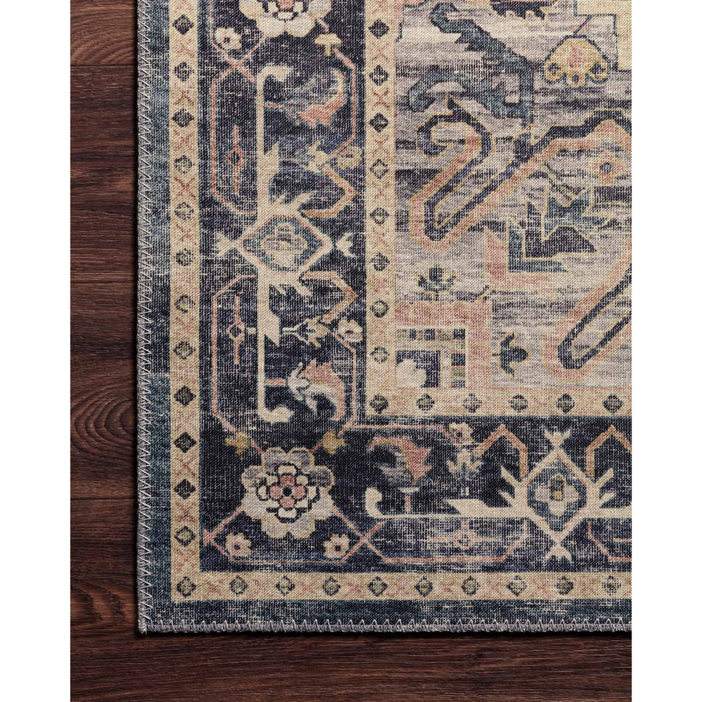 navy and multicolor hathaway rug