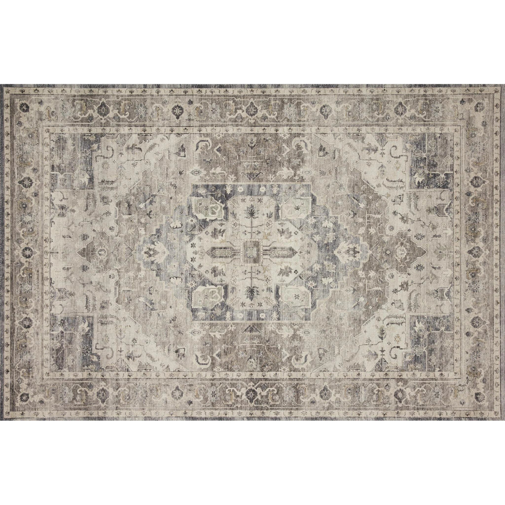 steel and ivory hathaway rug