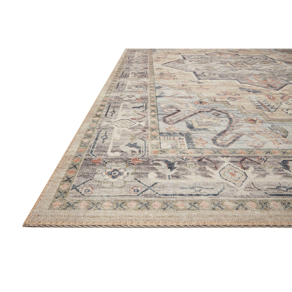 MULTI AND IVORY HATHAWAY RUG