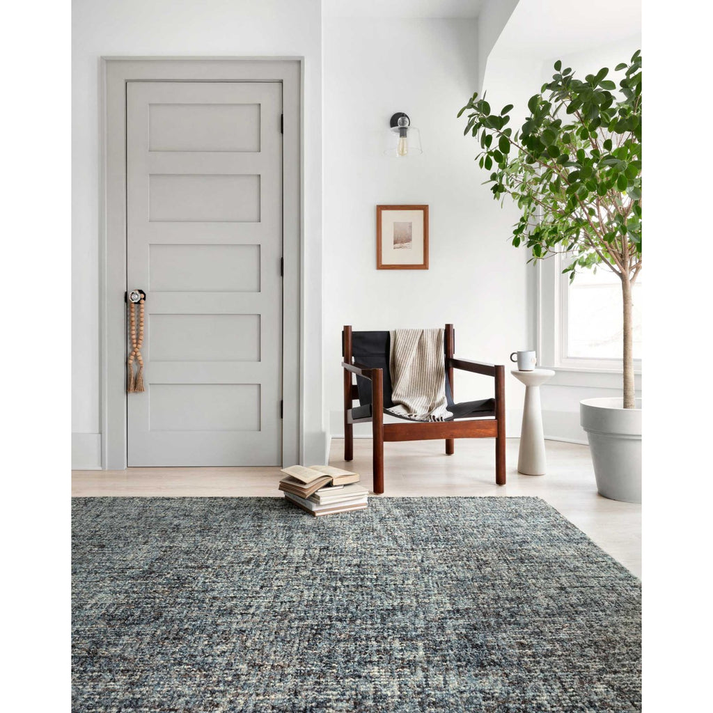 DENIM/ CHARCOAL HARLOW RUG