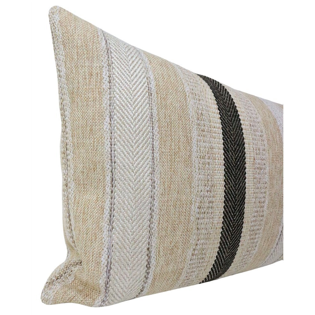 XL LUMBAR SAHARA CHENILLE NATURAL PILLOW