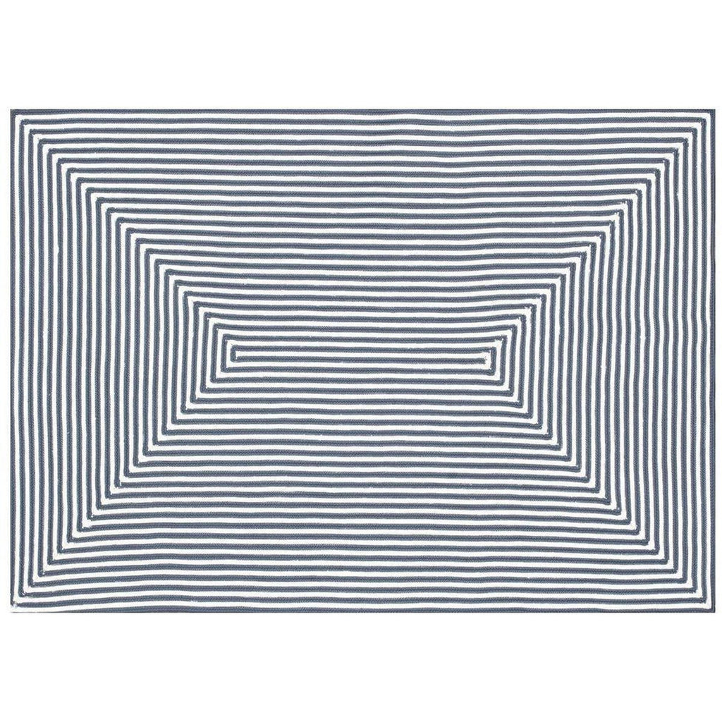 BLUE IN-OUT RUG