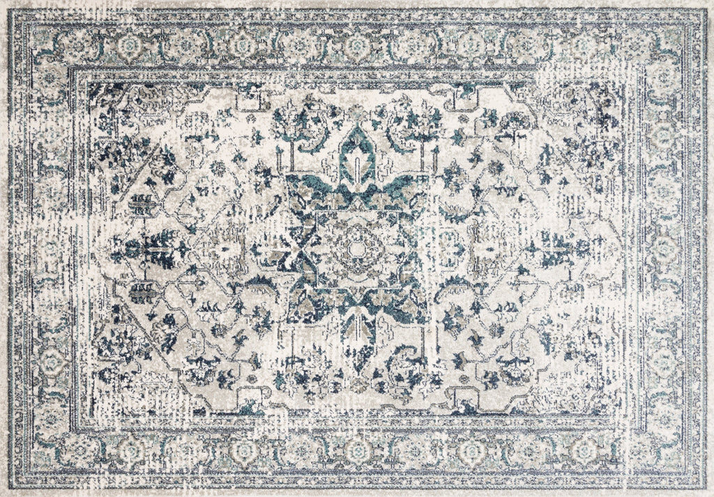 LT. GREEN/ BLUE JOAQUIN RUG