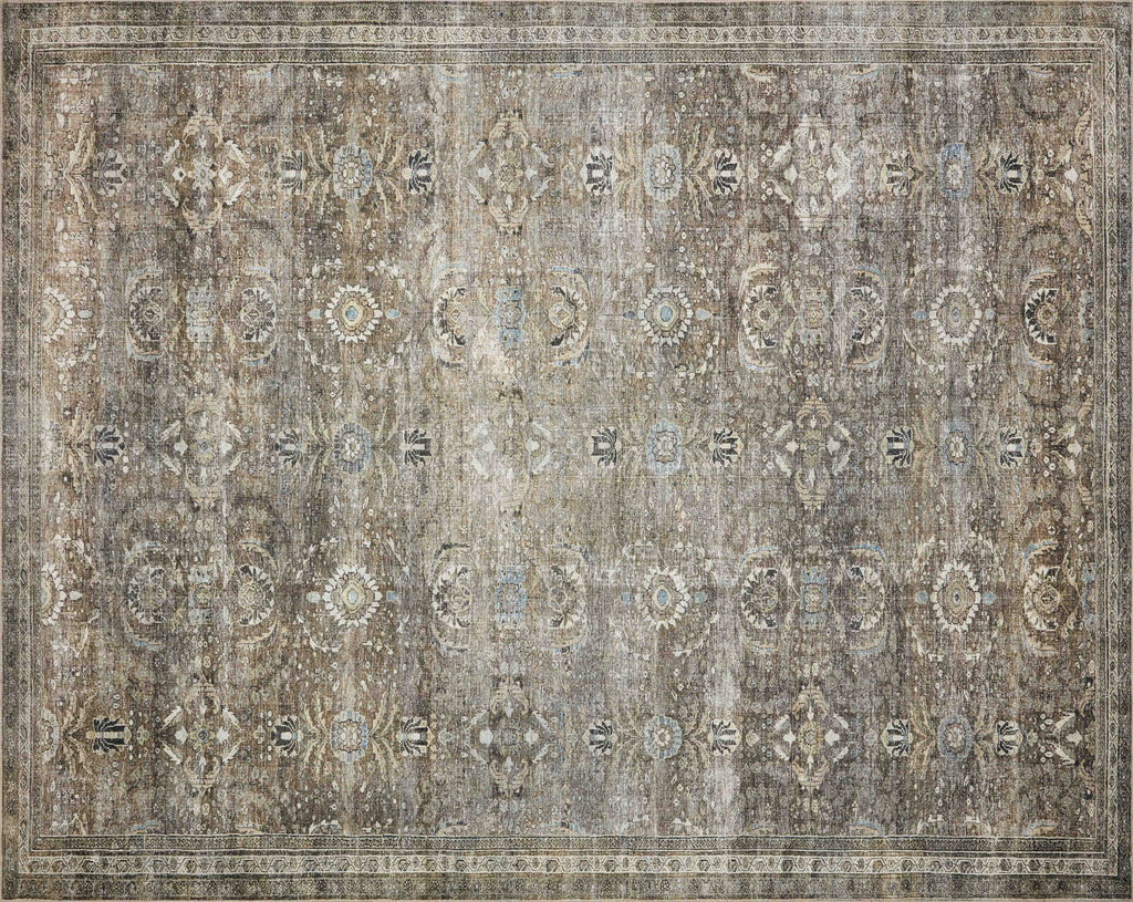 ANTIQUE/ MOSS LAYLA RUG