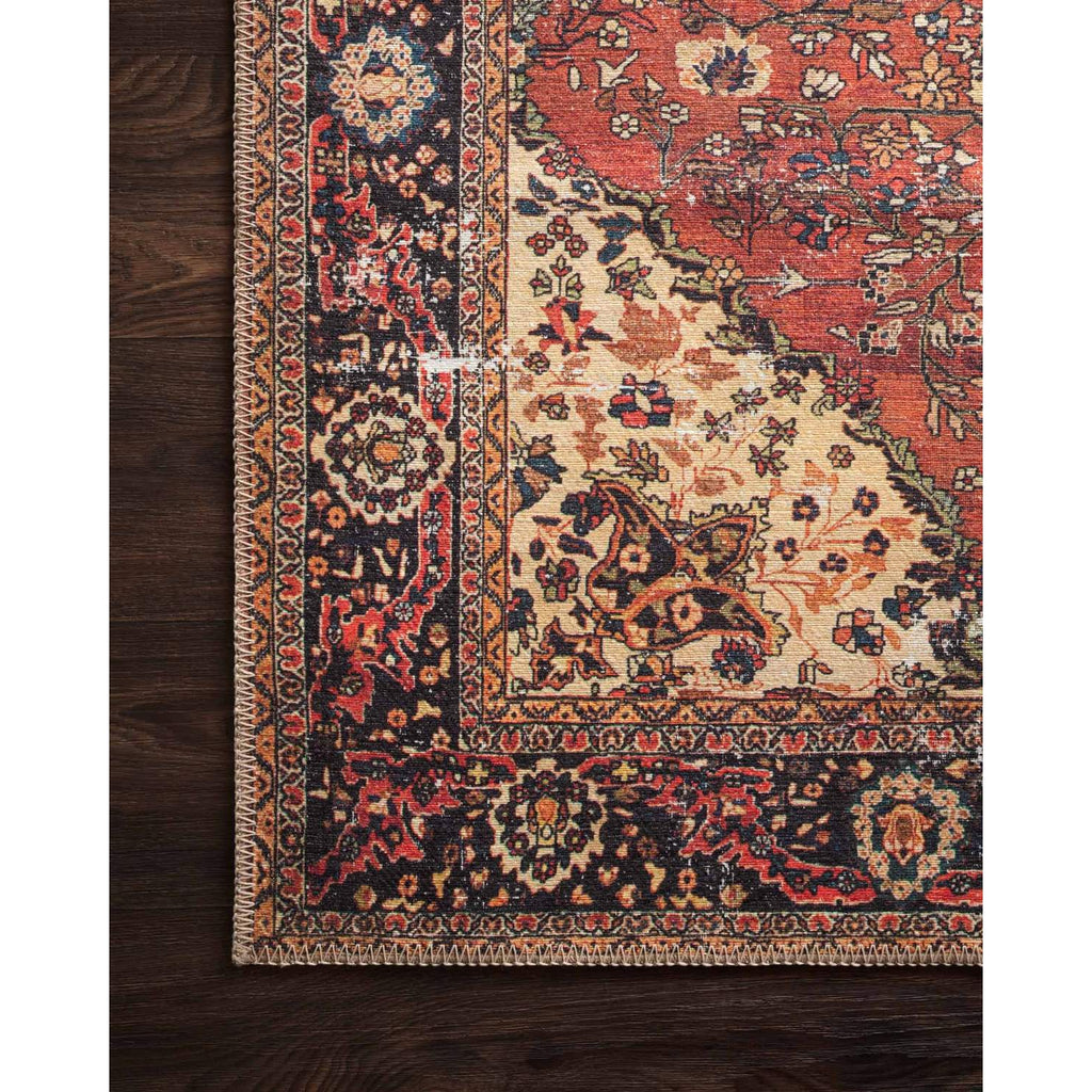 RED/ NAVY LOREN RUG
