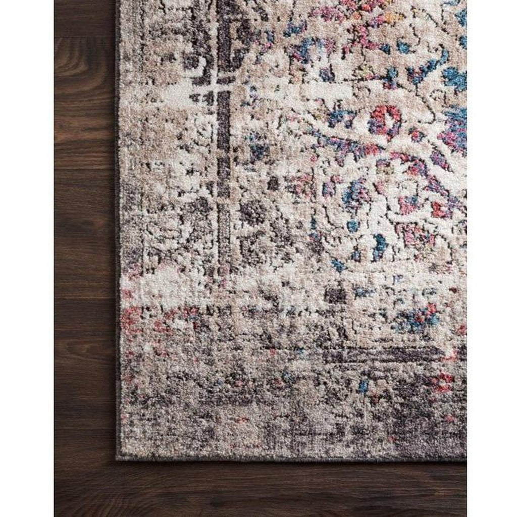 GRANITE AND MULTICOLOR MEDUSA RUG