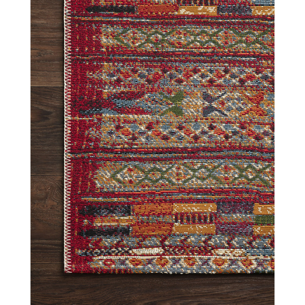 RED/ MULTI MIKA RUG