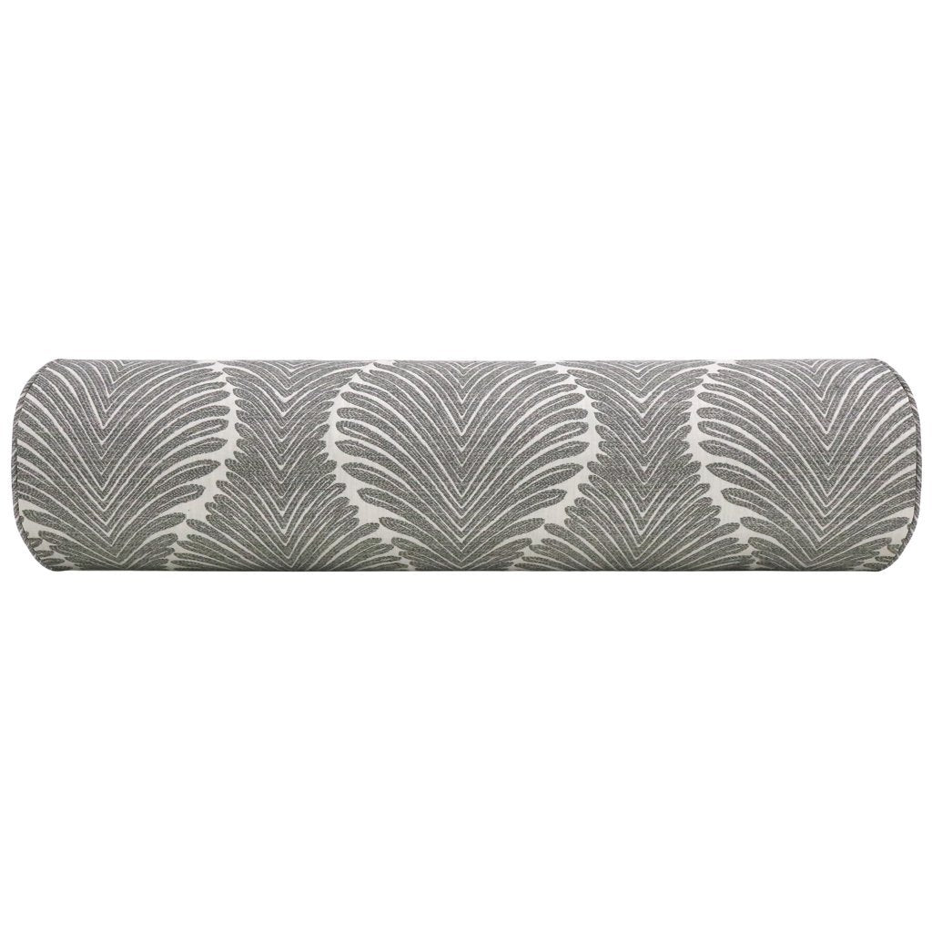 THE BOLSTER MUSGROVE CHENILLE CHARCOAL PILLOW