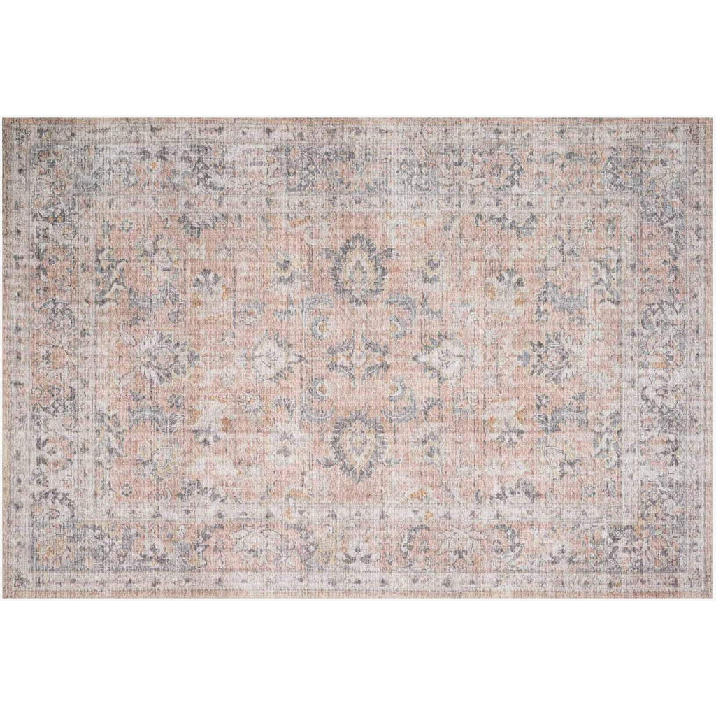 BLUSH/ GREY SKYE RUG