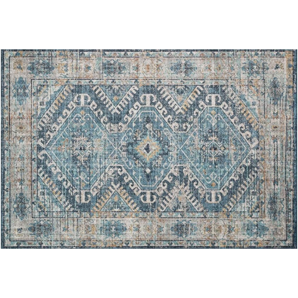 DENIM / NATURAL SKYE RUG