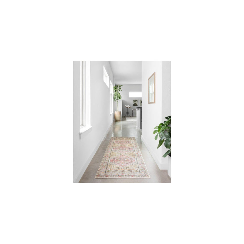 GOLD / BLUSH SKYE RUG