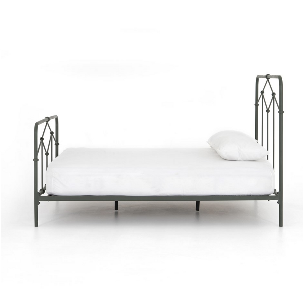 CASEY SAGE GREEN QUEEN BED