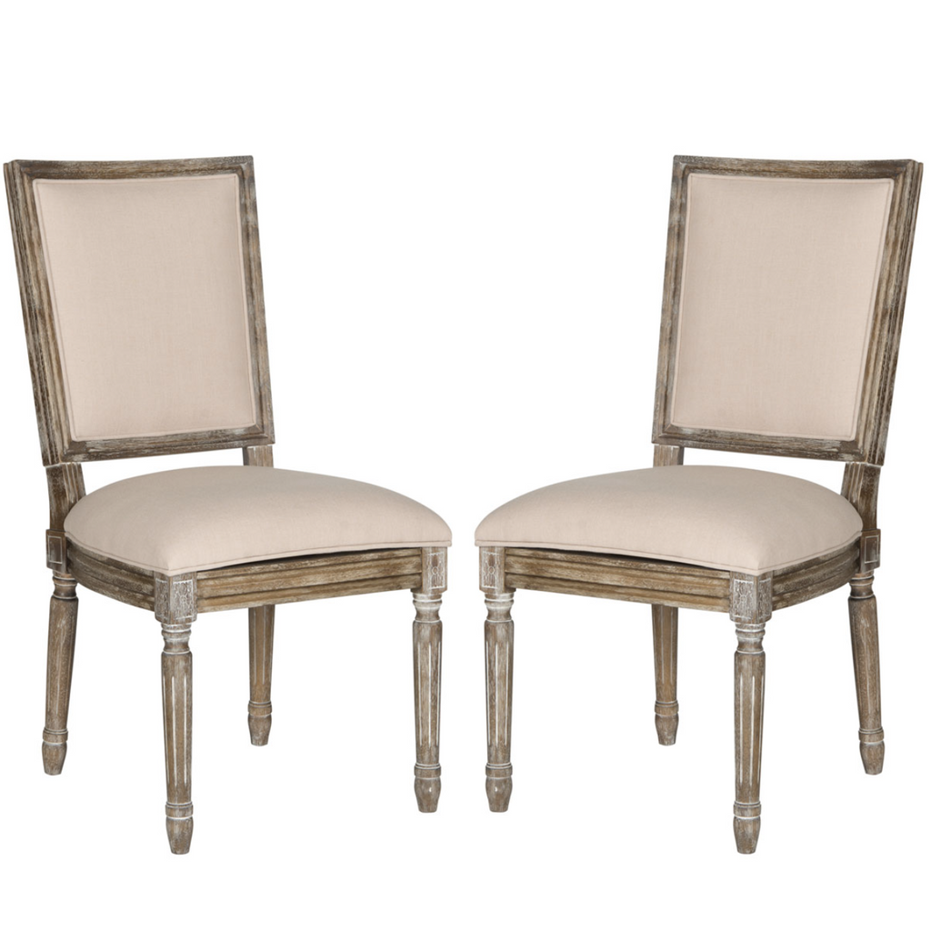 BUCHANAN BRASSERIE LINEN CHAIR - SET 2