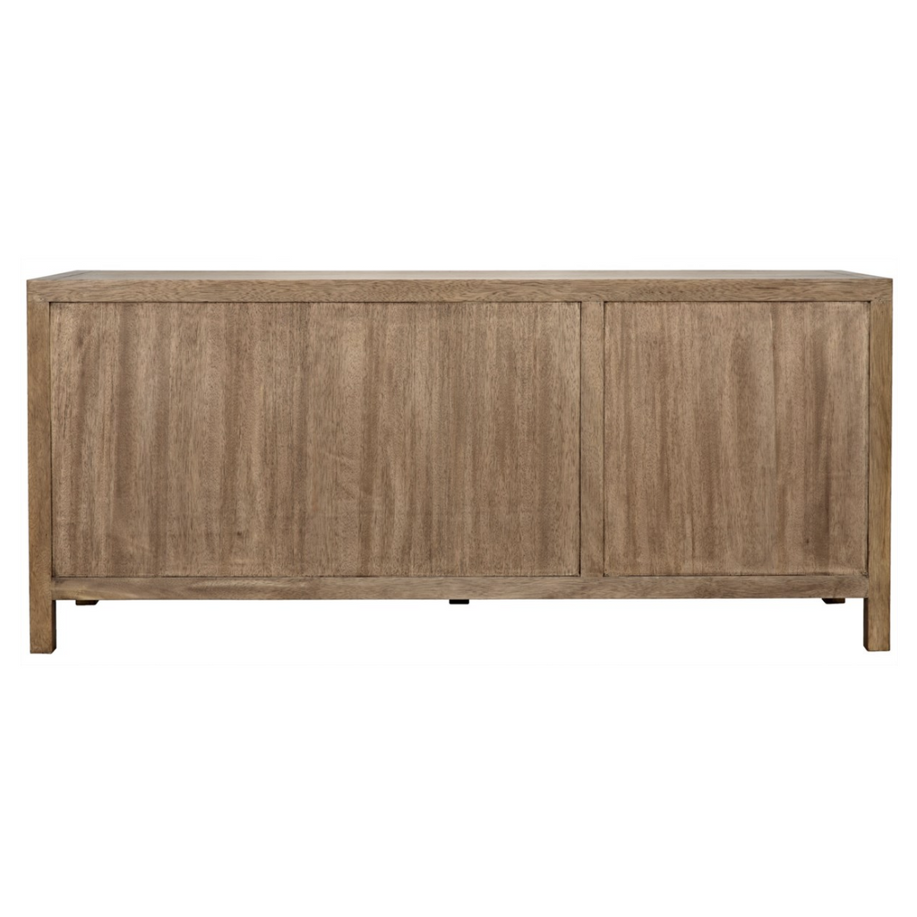WASHED WALNUT SIDEBOARD