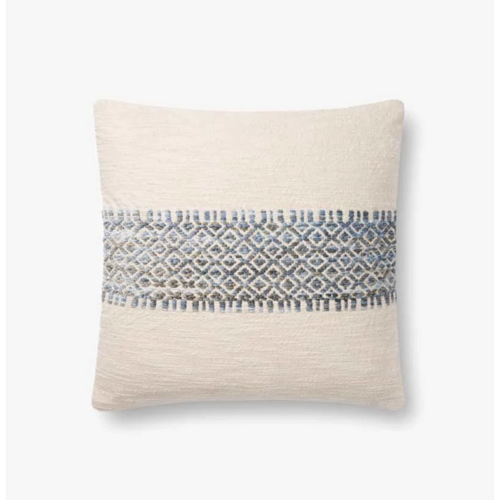 BLUE / MULTI PILLOW