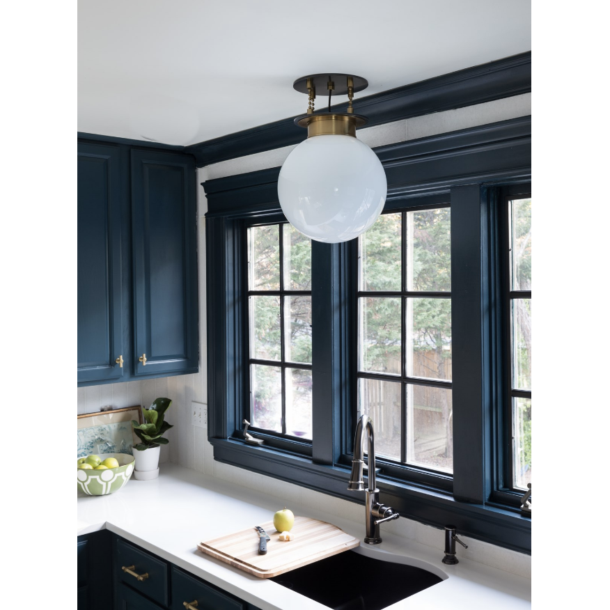gunther pendant in kitchen setting