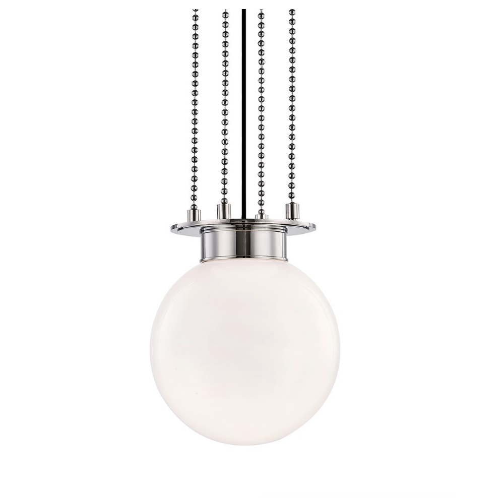 gunther small pendant in polished nickel