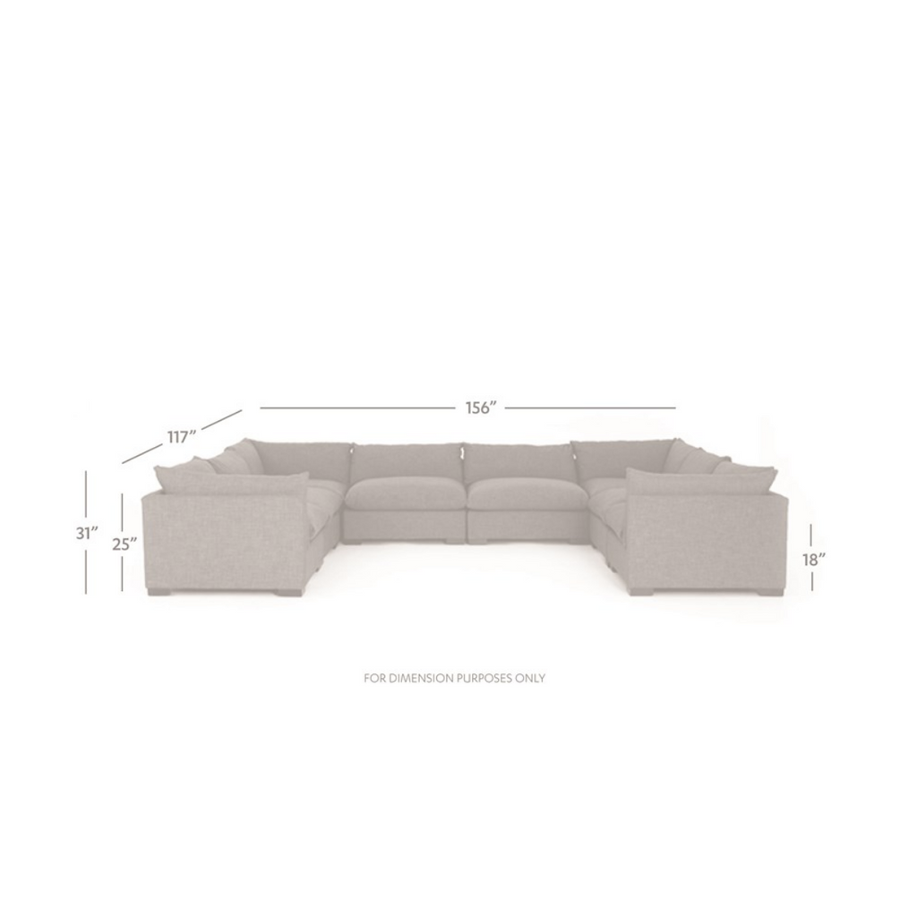 WESTWOOD 8-PIECE SECTIONAL