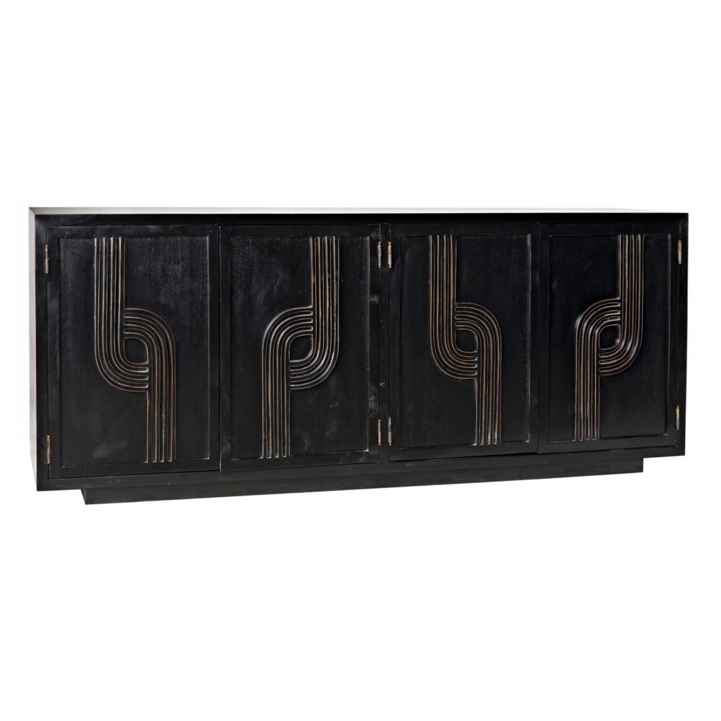 DECO 4 DOOR SIDEBOARD