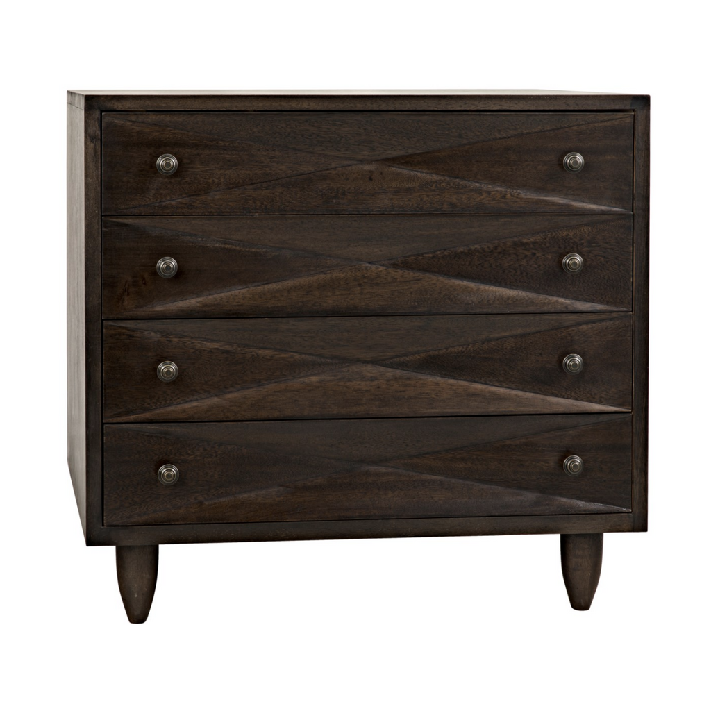 DIAMOND CHEST - EBONY