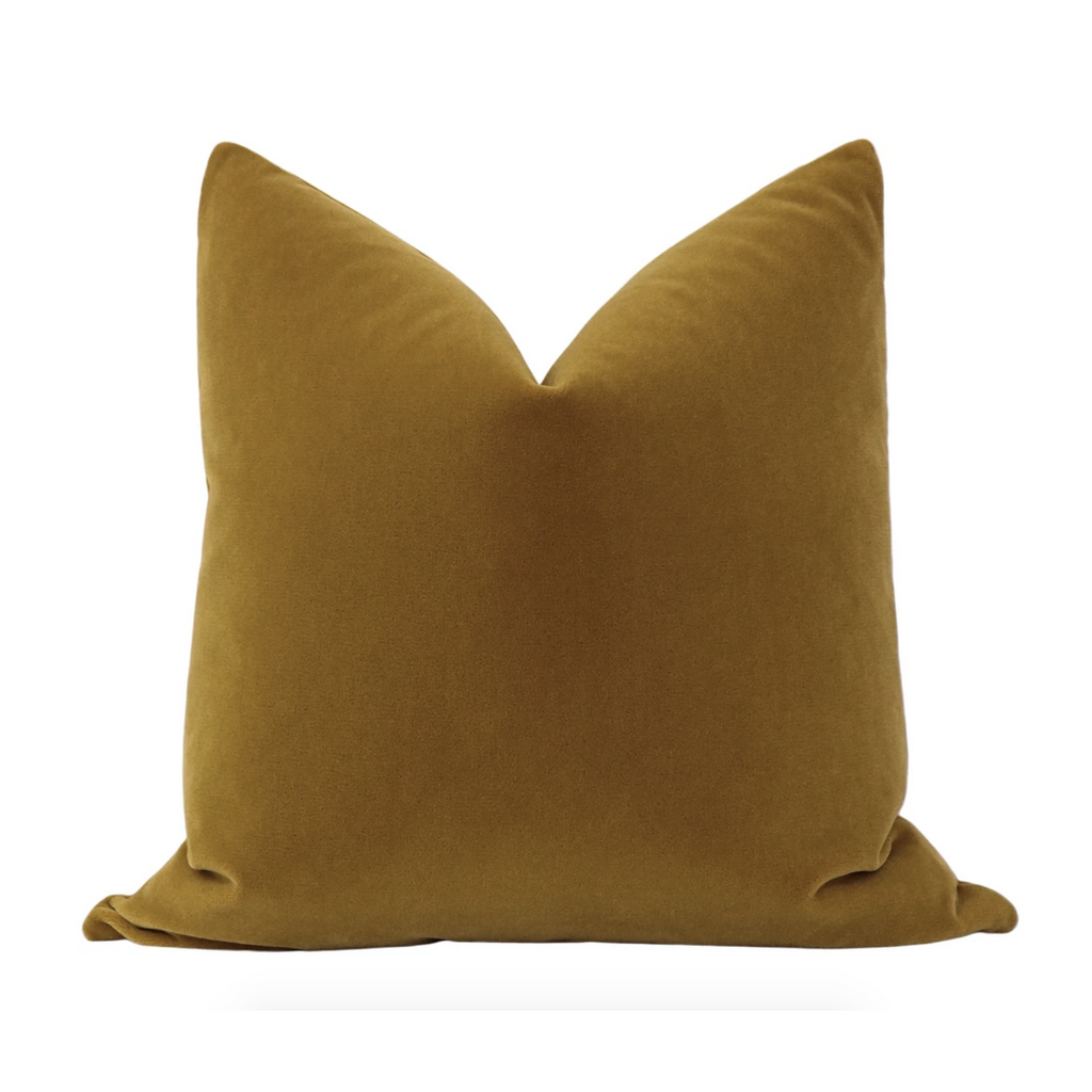 MOHAIR VELVET BOURBON PILLOW