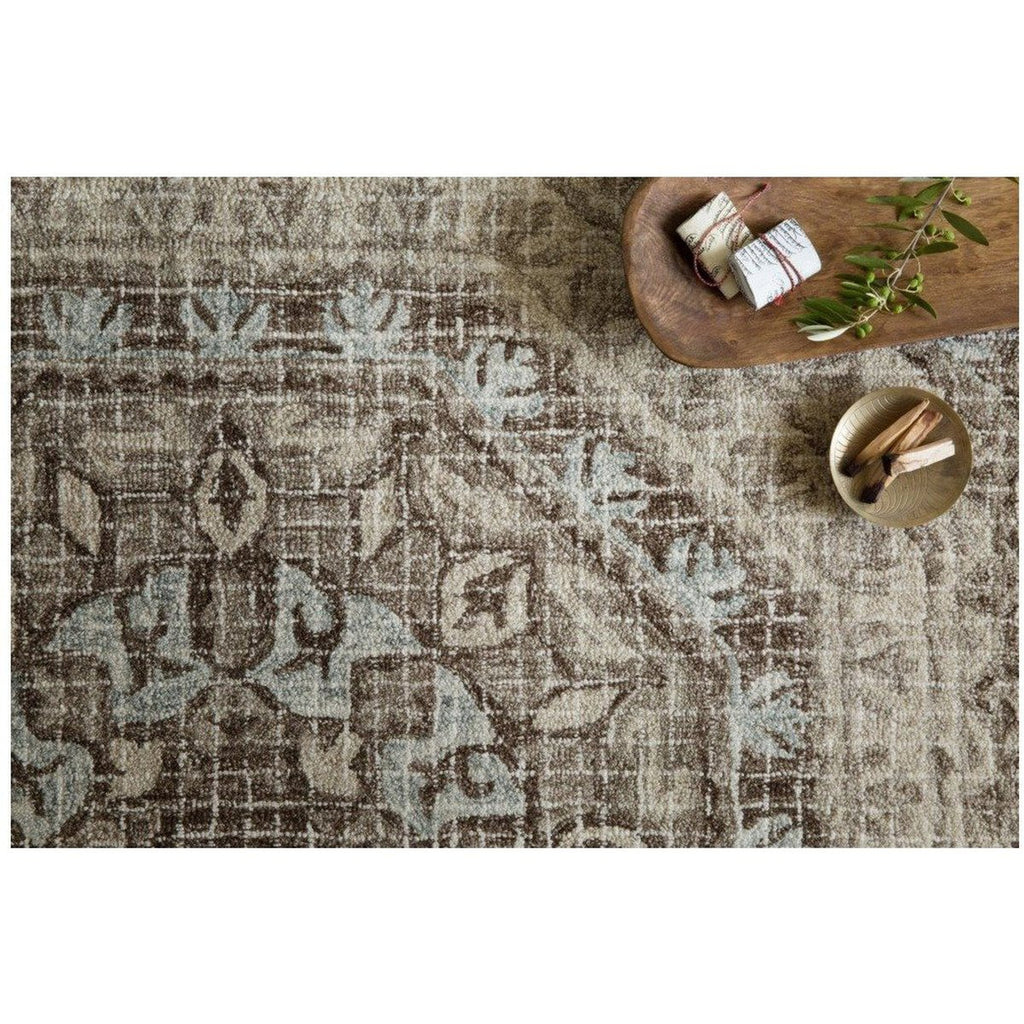STONE AND BLUE TATUM RUG