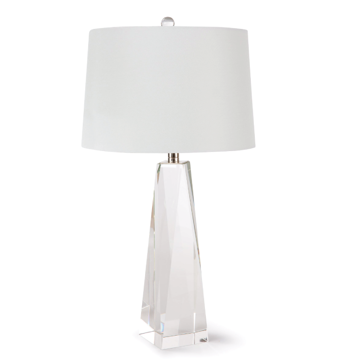 angelica crystal table lamp