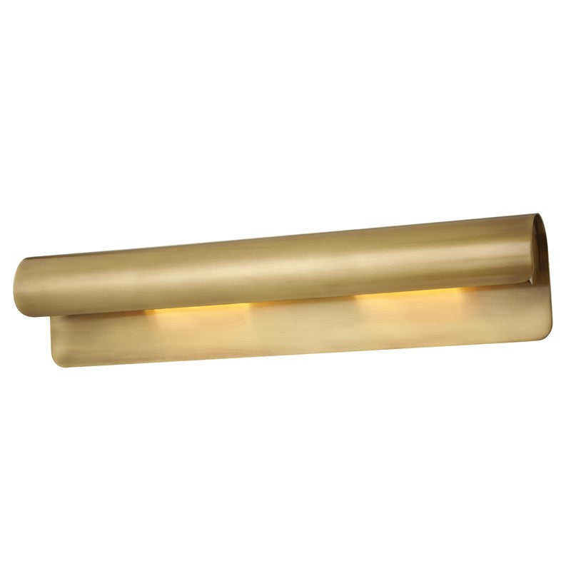 AGED BRASS ACCORD WALL LIGHT