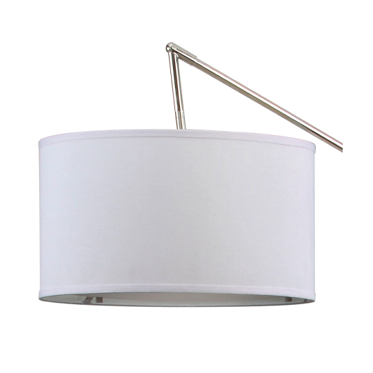 carina white floor lamp shade