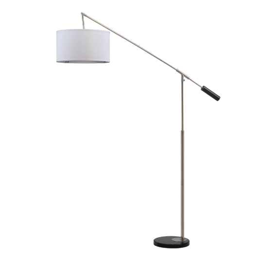 carina white floor lamp