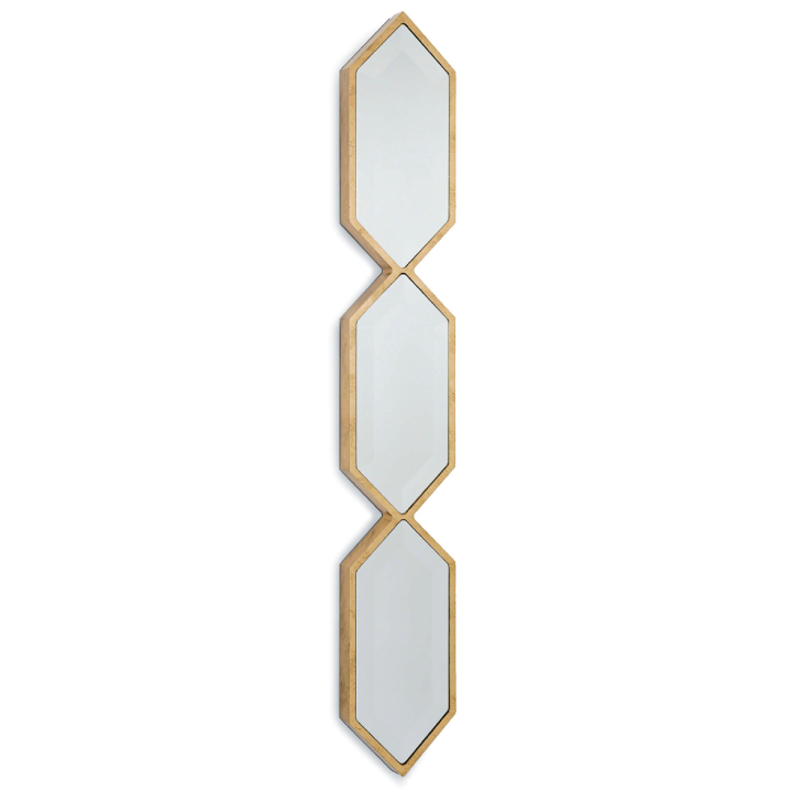 Triple Diamond Wall Panel Mirror