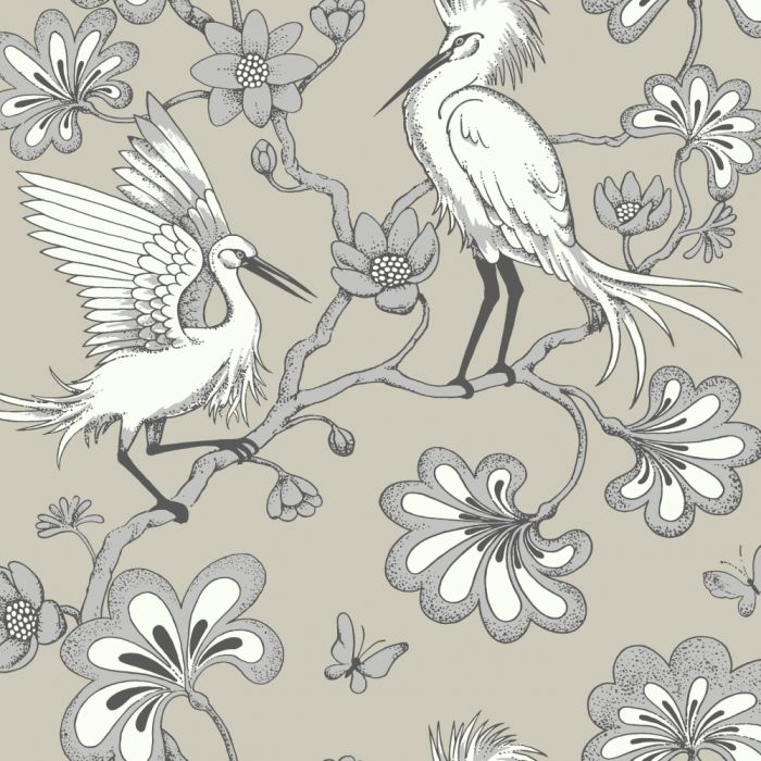 taupe egrets wallpaper