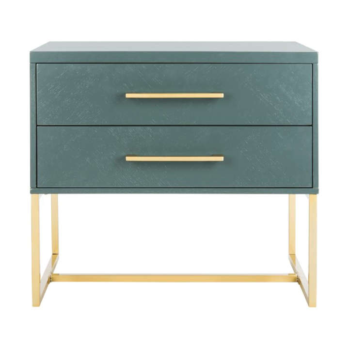 estelle nightstand in teal