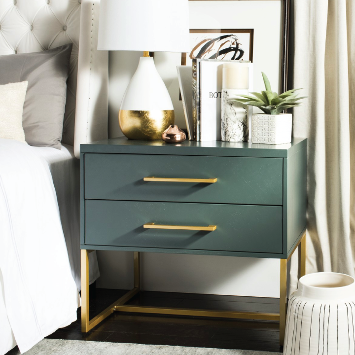 estelle nightstand in bedroom