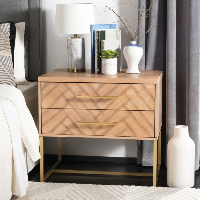 Estelle Natural Nightstand
