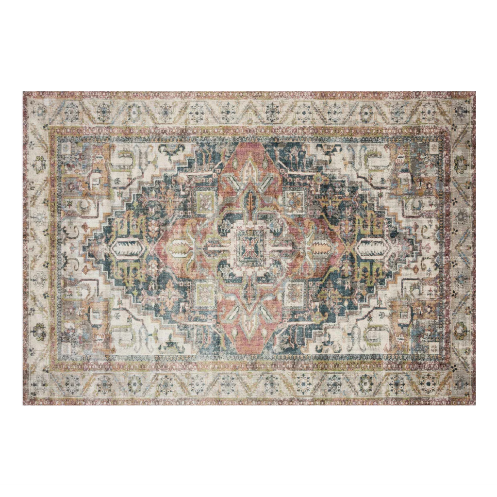 IVORY AND MULTICOLOR ANASTASIA RUG